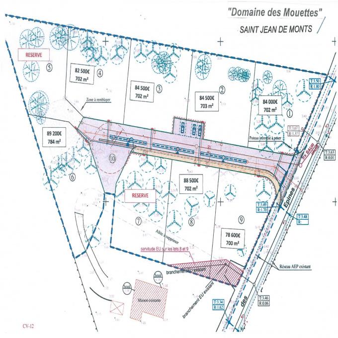 Offres de vente Terrain Saint-Jean-de-Monts (85160)